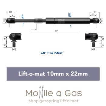 stabilus liftomat 10x22mm perno