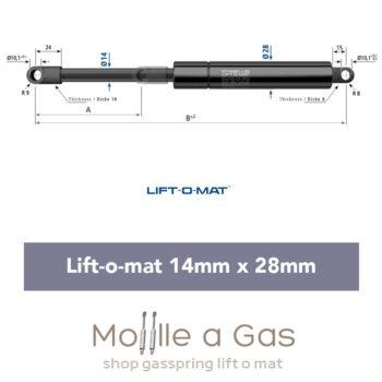 stabilus liftomat 14x28mm