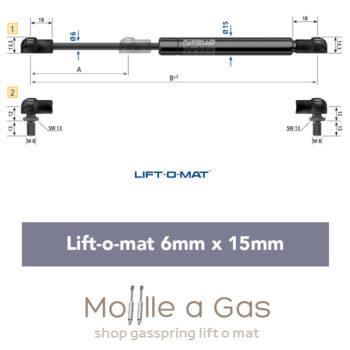 stabilus liftomat 6x15mm perno